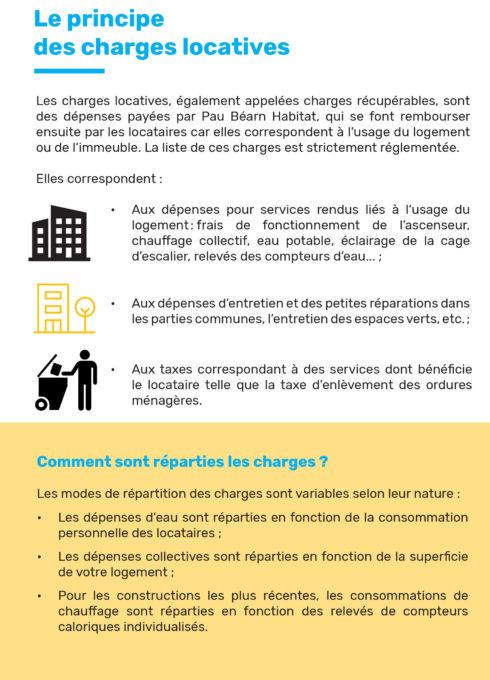 Régularisation charges locatives 2021-2
